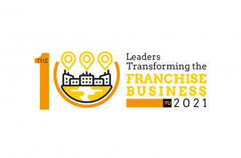 the100leaderstransformingthefranchisebusiness2021 logo